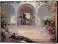 Sunlit Courtyard Fine-Art Print
