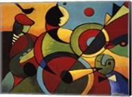 Jazz Panel 2 Fine-Art Print