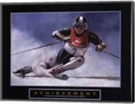 Achievement - Skier Fine-Art Print