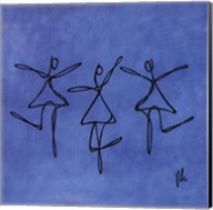 Peace - Blue Dancers Fine-Art Print