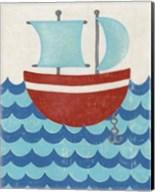 Truman's Voyage I Fine-Art Print