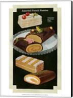 French Pastries I Fine-Art Print