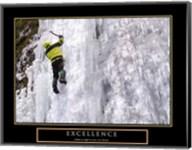 Excellence-Snow Climber Fine-Art Print