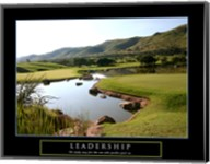 Leadership-Golf Fine-Art Print