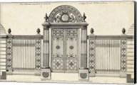 Neufforge Gate IV Fine-Art Print