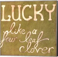 Four Leaf Clover Fine-Art Print