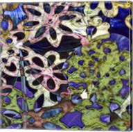 Bejeweled Woodblock III Fine-Art Print