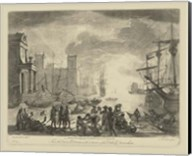 Antique Harbor I Fine-Art Print