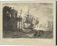 Antique Harbor IV Fine-Art Print