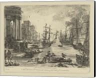 Antique Harbor V Fine-Art Print
