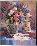 White Tulips & Roses Fine-Art Print
