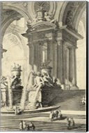 Vintage Roman Ruins IV Fine-Art Print