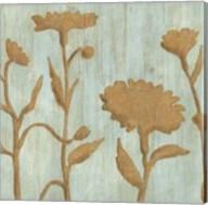 Golden Wildflowers I Fine-Art Print