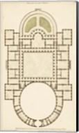 Antique Garden Plan IV Fine-Art Print