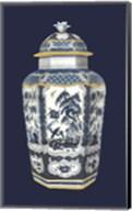 Asian Urn in Blue & White II Fine-Art Print