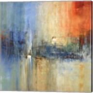 Blue Cascade Fine-Art Print