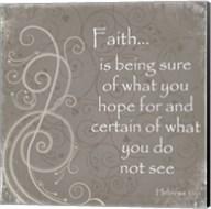 Faith Quote Fine-Art Print