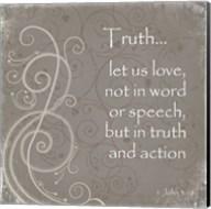 Truth Quote Fine-Art Print