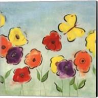 Flowering Garden I Fine-Art Print