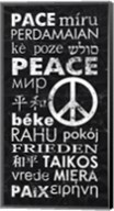 Peace Languages Fine-Art Print