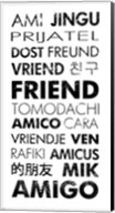 Friend Languages Fine-Art Print