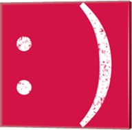 Red Smiley Fine-Art Print