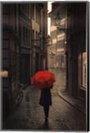 Red Rain Fine-Art Print