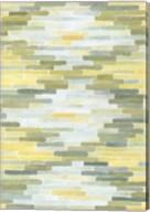 Green & Yellow Reflection I Fine-Art Print