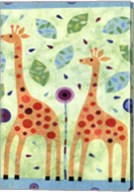 Giraffe Pair Fine-Art Print