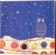 Feathers, Dots & Stripes II Fine-Art Print