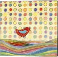 Feathers, Dots & Stripes VII Fine-Art Print
