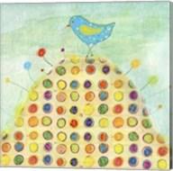 Feathers, Dots & Stripes XIII Fine-Art Print