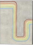 Retro Rhythm I Fine-Art Print