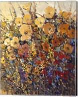 Bright & Bold Flowers II Fine-Art Print