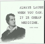 Laugh When You Can Quote Fine-Art Print