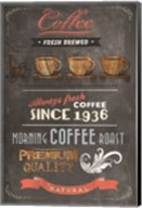 Coffee Menu II Fine-Art Print