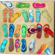 Flip Flops I Fine-Art Print
