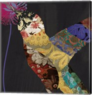 Hummingbird Brocade II Fine-Art Print