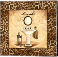 Giraffe Lavabo Fine-Art Print