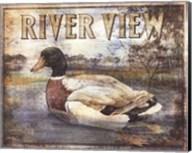 Duck Sign I - petite Fine-Art Print