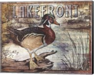 Duck Sign II - petite Fine-Art Print