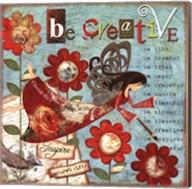 Just Be Creative Fine-Art Print