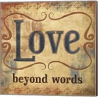 Love Beyond Words Fine-Art Print