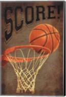 Score Basketball Fine-Art Print
