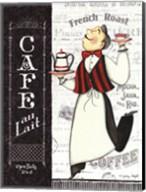Cafe Waiter Fine-Art Print