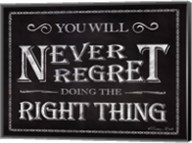 Never Regret Fine-Art Print