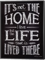 It's Not The Home Fine-Art Print