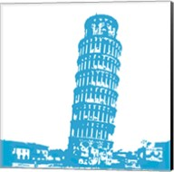 Pisa in Blue Fine-Art Print