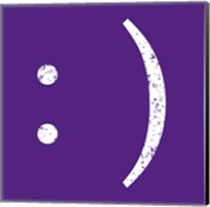 Purple Smiley Fine-Art Print