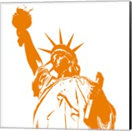 Liberty in Orange Fine-Art Print